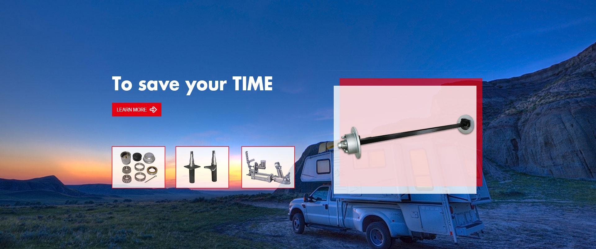 Trailer Axle & Component