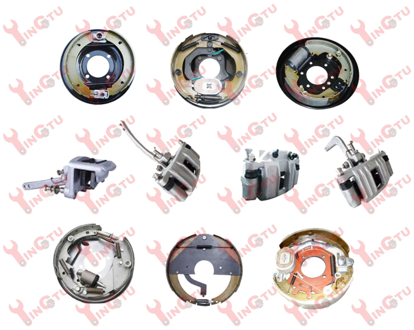 Boat Trailer and Trailer Brakes