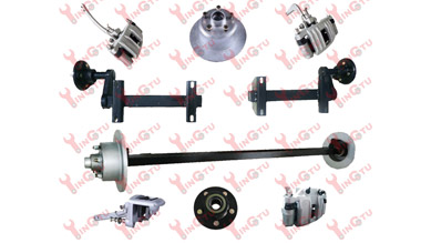 Boat Trailer Axles and Disc Brakes