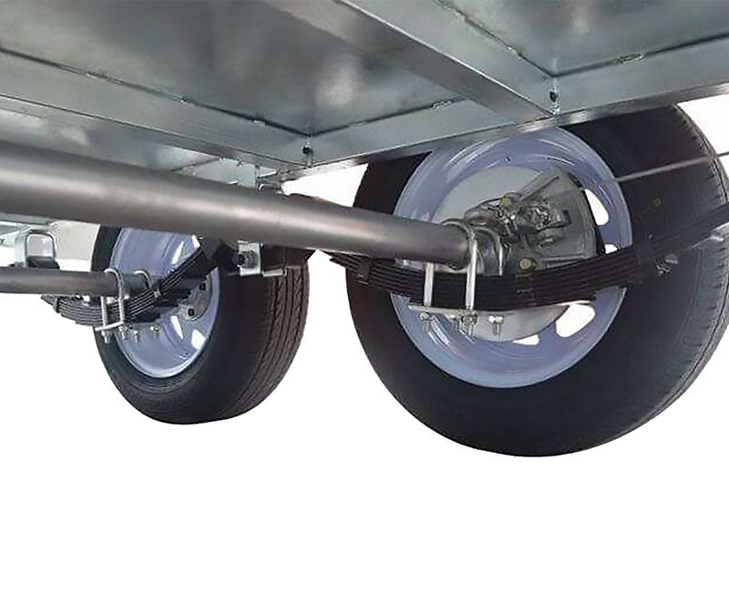 Trailer Tandem Axles with Brakes